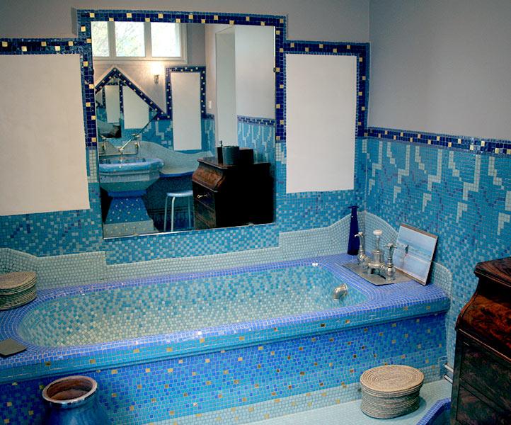 Salle de bains Art Déco | EMAAA